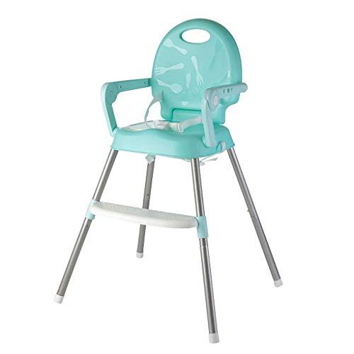 ZHAOJYZ Household Necessities, 3-in-1 hoge stoel met multifunctioneel dienblad Junior Chair en inklapbare tas Snack Repeater veiligheidsgordel