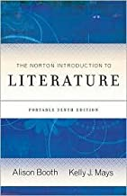 The Norton Introduction to Literature 10th (tenth) edition Text Only