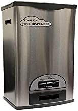30 Pounds Stainless Steel Rice Dispenser By HNDtek