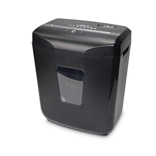Review DDSS Shredder, Office Shredded Paper, Mute, 5 Levels of confidentiality, File granules, Black...