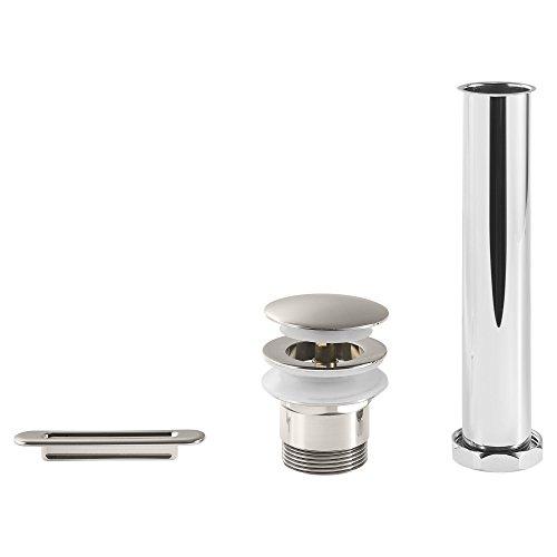 American Standard 1582000.295 Drain and Overflow Kit, Brushed Nickel