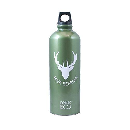 Alusport Bottles Drink Eco Mountain Bouteille Sport Unisexe Adulte, Vert, L