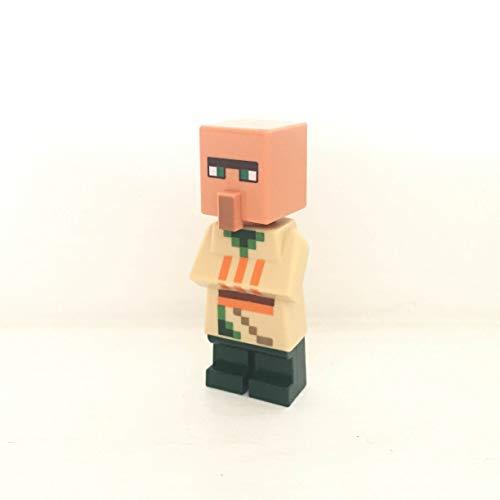 maisterkaio-de Lego Figur Villager- Dorfbewohner 1 -- Minecraft -- (aus Set 21160, kompatibel mit Anderen Lego)