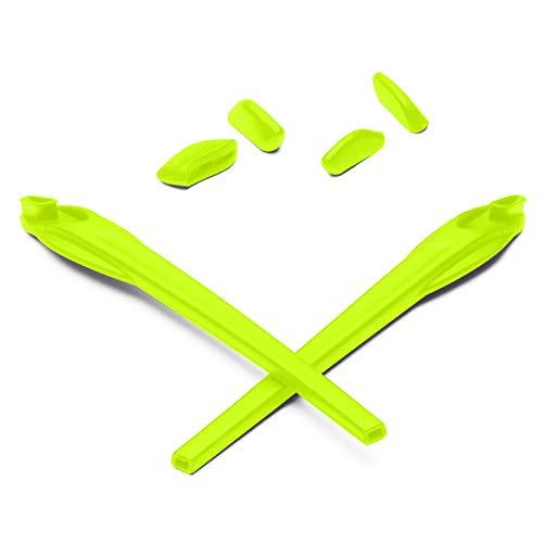 Mryok Ersatz Earsocks Nosepieces Kits für Oakley Flak 2.0/2.0 XL Sonnenbrille - Grün