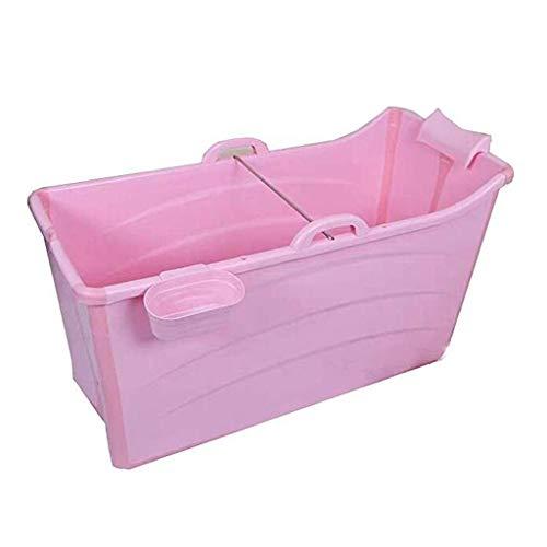 ASIER mobiele badkuip, antislip, dik extra kunststof, voor volwassenen, thuis, kinderbadkuip, draagbaar, opvouwbaar, 120 cm x 52 cm x 68 cm