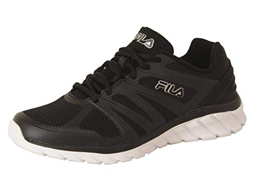 Fila Mens Memory Cryptonic 3 Running Shoes 9 Black/White