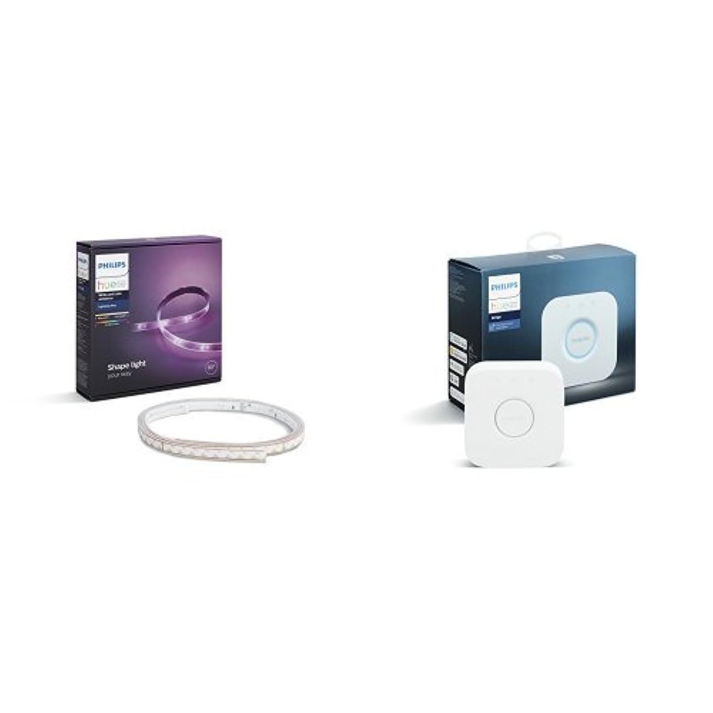 Philips Hue(ヒュー)ライトリボンプラス +ブリッジ 【間接照明、Amazon Echo、Google Home、Apple HomeKit、LINE対応】