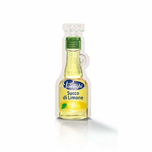 Succo di Limone - (100 Caraffine da 10 ml) - Giancarlo Polenghi