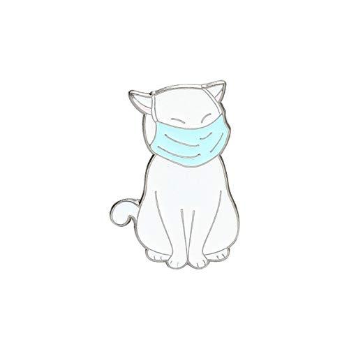 Enamel Pin Cat Dog Pig Corgi Husky French Bulldog Brooches Bag Lapel Pin Cartoon Fun Badge Jewelry