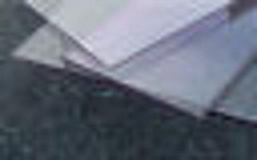 Plaat polycarbonaat kleurloos 1000 x 500 x 6 mm, helder speciale artikelen