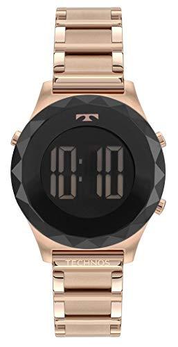Relógio Technos Feminino Ref: Bj3851ac/4p DIgital Rosé