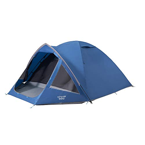 Vango Alpha 400 Moroccan Blue Camping Tent - Scout Recommended Kit