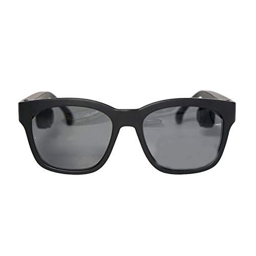 YLJXXY Gafas de Sol Deportivas polarizadas para Hombres y Mujeres, Inteligente Gafas Bluetooth ído música y Llamadas