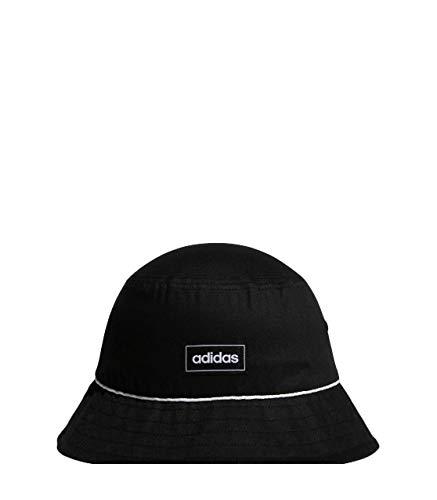 adidas CLSC Bucket Hat Gorra, Unisex Adulto, Negro/Negro/Blanco, Talla Única