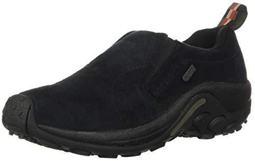 Merrell Women's Jungle Moc Waterproof Slip-On Shoe,Black,8 M US