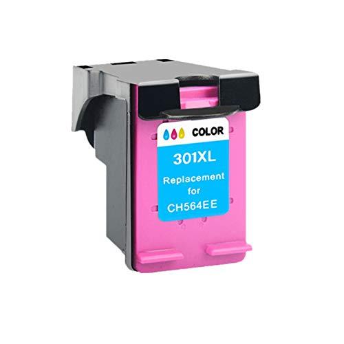 LIUYB Cartucho 301XL Compatible con HP 301 XL for el Cartucho de Tinta HP301 for HP Envy 5530 Deskjet 2050 2540 2510 1000 1050 Impresora (Color : 1 Color)