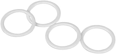 Selling rankings Porcelynne White Nylon Coated Low price Metal - Replacement Strap Bra Ring
