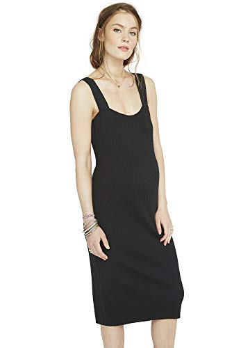 Hatch Maternity Womens The Sonia Ribbed Dress