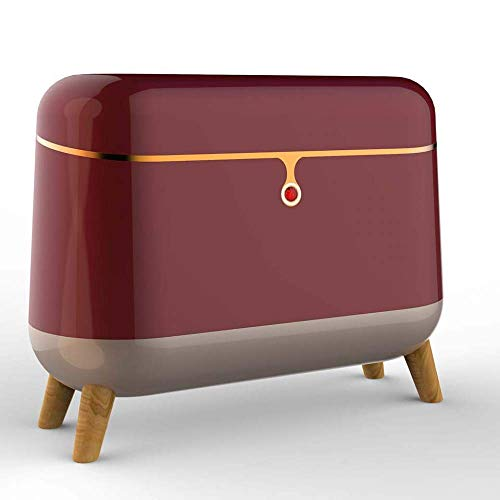 JINGJIU Professional Beauty Refrigerator, Small Cosmetic Refrigerator, Bedroom Mini Refrigerator (Fresh 10 ° C +), Intelligent Constant Temperature, Quiet, Easy To Store, 6L