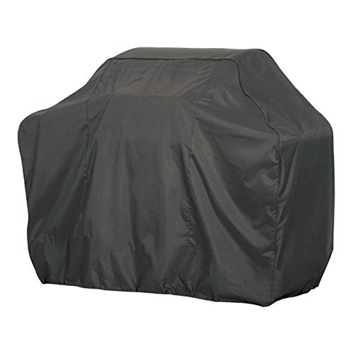LITINGFC-Garden Furniture Cover,Heavy Duty 210D Oxford Fabric Windproof Fadeproof Waterproof Outdoor Patio Table Covers,with Storage Bag (Color : Black, Size : 190x71x117cm)