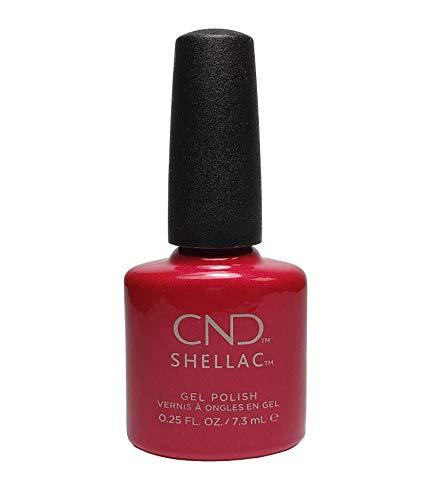 New CND Creative Shellac UV3 Power Polish - Red Baroness 7.3ml by CND Shellac