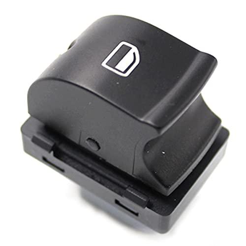 LUOERPI Botón de Interruptor de Control de Ventana única de energía del Coche, para Audi A6 S6 C6 RS6 Allroad A3 Q7,4F0959855A 4F0959855 4F0 959855