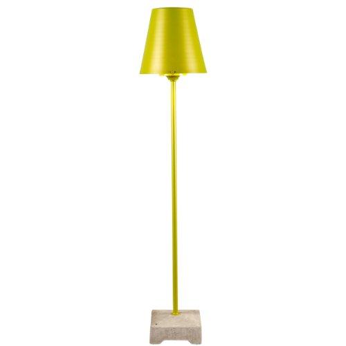 Konstsmide Moderne Lucca Debout Grande lumière 1.3 m avec Opale Abat-Jour Big Green