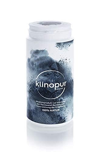 Zeolith Pulver 150 g, ultrafein, Medizinprodukt, Klinoptilolith unterstützt die Entgiftung im Magen-Darm-Bereich, stärkt die Darmwandbarriere, begleitend bei der Darmkur   KLINOPUR