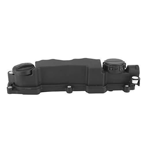 Válvula de culata profesional Cubierta de válvula negra Superior 9651815680 Accesorios de coche para C3 C4 1.6HDi