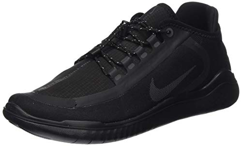 Nike Free RN 2018 Shield Mens Running Trainers AJ1977 Sneakers Shoes (UK 11 US 12 EU 46, Black Anthracite 002)