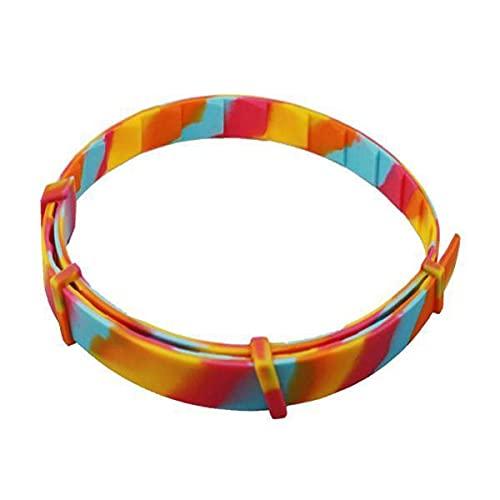 Baoblaze Collar para Pulgas Y Garrapatas 2X para Perros, Gatos, 8 Meses de Protección Multicolor para