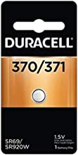 Duracell Watch 370/371 1.5V Silver Oxide Battery (Value Pack of 4)
