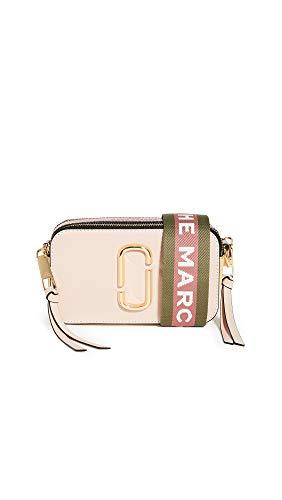 Marc Jacobs Bolso con bandolera The Snapshot rosa