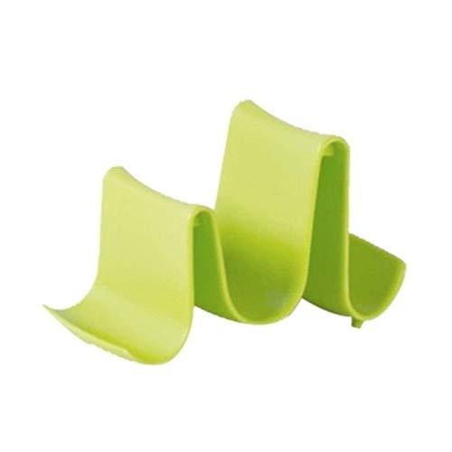 N-B 1 Uds Estante de Tapa de sartén de plástico Moderno Simple práctico Soporte de Cubierta de Olla Cocina Guardar Espacio Soporte de Tapa de sartén Suministros para el hogar