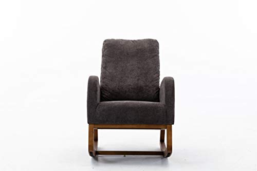 Les yeu Accent Chair Living Room Chair, Living Room Comfortable Rocking Chair Single Sofa