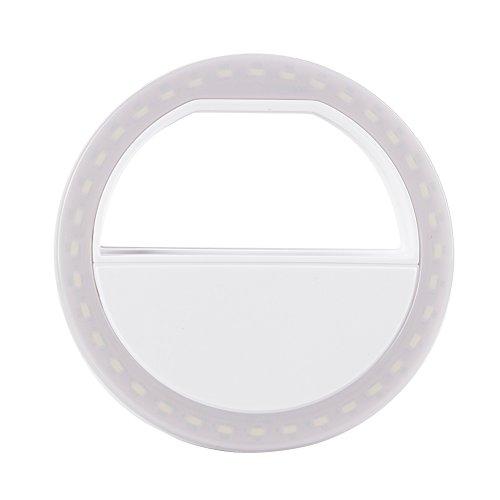 Amazingdeal365 Luz de lujo LED Up Selfie anillo de teléfono luminoso para el iPhone 6 6S Plus LG Sams