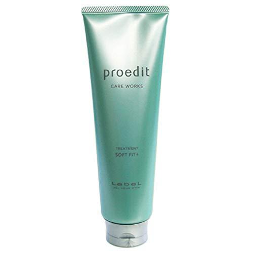 Lebel Proedit Care Works New Hair Ttreatment Soft Fit Plus - 250ml (Green Tea Set)