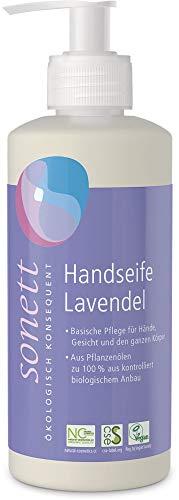 Sonett Bio Handseife Lavendel (6 x 300 ml)