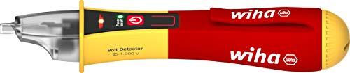 Wiha Spannungsprüfer Volt Detector berührungslos, einpolig (43798) 90 – 1.000 V AC, inkl. 2x AAA-Batterien