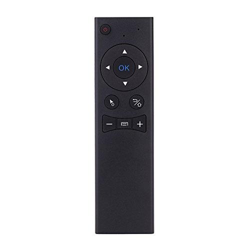 Andoer® MX6 Tragbare 2.4G Drahtlose Fernbedienung Air Mäuse Drahtlose Sprach Fernbedienung mit USB2.0 Empfänger Adapter für Smart TV Android TV Box Mini PC HTPC