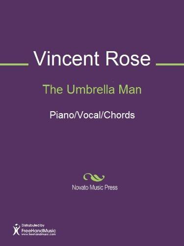 The Umbrella Man Sheet Music (Piano/Vocal/Chords) (English Edition)