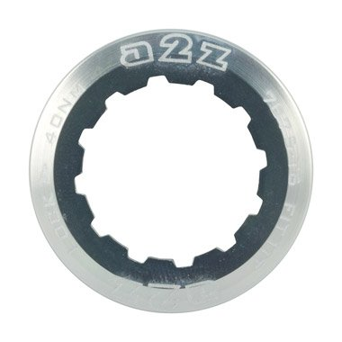 A2Z Alloy 11T Bicycle Gear Sprocket Lockring for Shimano & Sram Cassettes (Silver)
