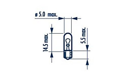 Narva – 17073 Lampe de l'ampoule, Intérieur (quantité 10)