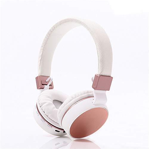 JSX hoofdtelefoon met 9 uur afspeeltijd voor draadloze bluetooth-headsets, opvouwbaar/zacht geheugenproteïne-oorbeschermer/ingebouwde microfoon/bekabelde modus