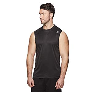 Reebok Men's Muscle Tank Top – Sleeveless Workout & Training Activewear Gym Shirt