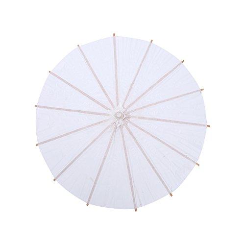 FTVOGUE - Paraguas de papel para fiesta de boda, paraguas de papel chino/japonés para bodas, damas de honor, regalos, servicios fotográficos, disfraces, cosplay, decoración y bricolaje
