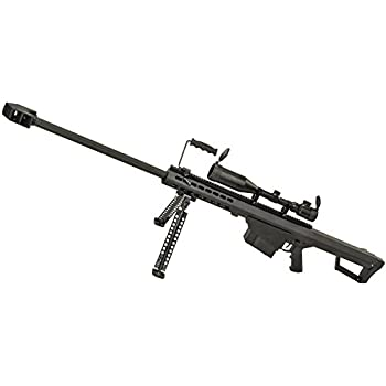 SNOW WOLF バレットM82A1 対物ライフル 電動フルメタル スコープ&バイポット付属