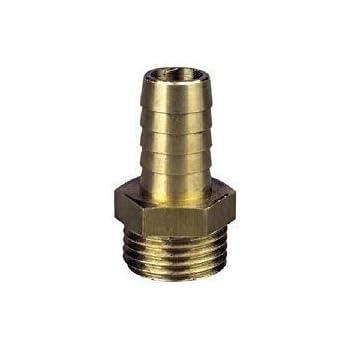 Connettore a innesto rapido per tubo flessibile in ottone Raccordo a innesto rapido per connettore 2 pezzi 4-10mm per adattatore per tubo stagno