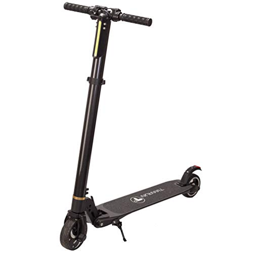 TianRun Electric Scooter 10-15 Mph & Range 8-15 Miles 8.8Ah Battery Easy Foldable Carbon Fiber E-Scooter Electric Bicycle for Adult up to 264lbs