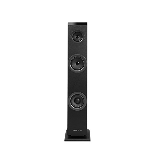 Energy Sistem Tower 1 -  Sistema de altavoces en torre con Bluetooth 4.1, 30 W Potencia, RCA, 3.5 mm Audio-in, negro